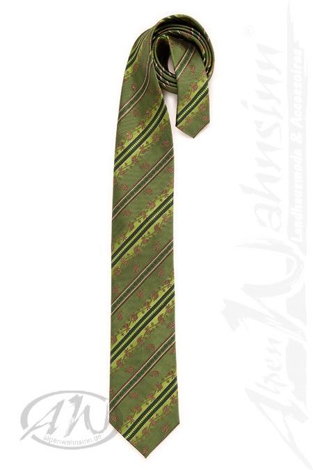 Luise Steiner Trachtenaccessoires Trachten Krawatte - BIELEFELD - beere, bronze, Bronze