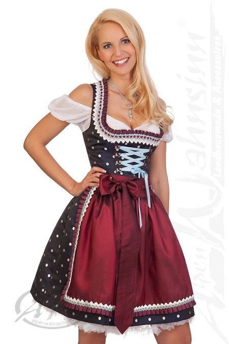 kr ger dirndl minidirndl trachten minidirndl 2tlg thilda. Black Bedroom Furniture Sets. Home Design Ideas